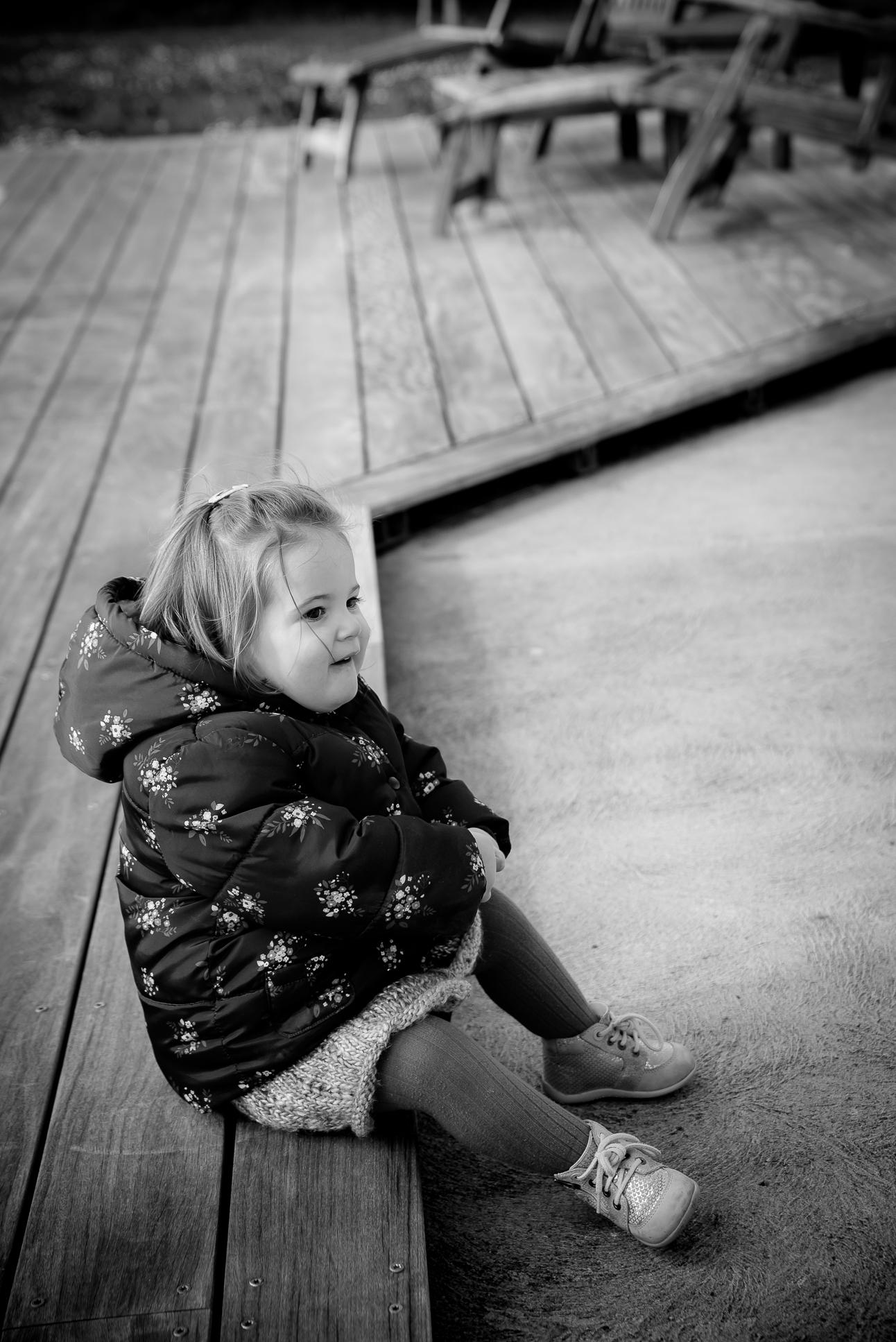 Portrait enfant n&b