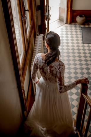 mariée chateau vaugrignon esvres