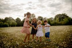 Ronde enfants tourangeaux champs