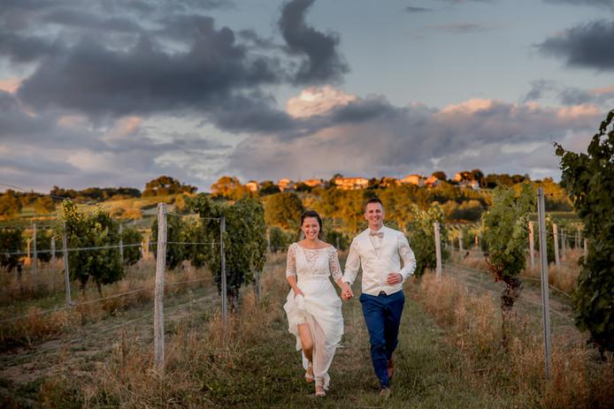 mariés vignes bordeaux