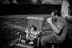 complicité père et fille