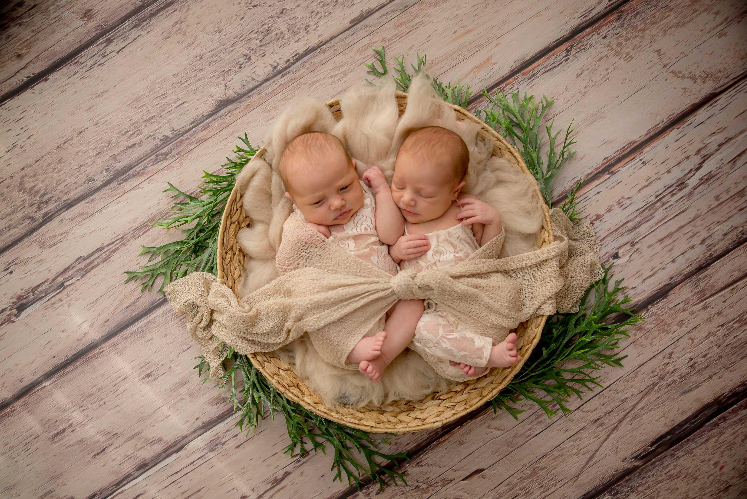 Jumeaux twins Séance photo à 2
