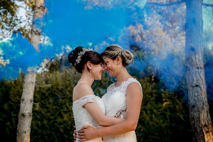 mariages lesbiennes langeais fumigènes