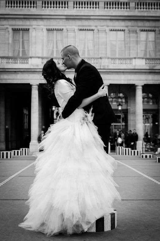 mariage colonne buren paris