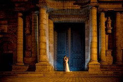 Photo mariés Cathédrale de Rennes