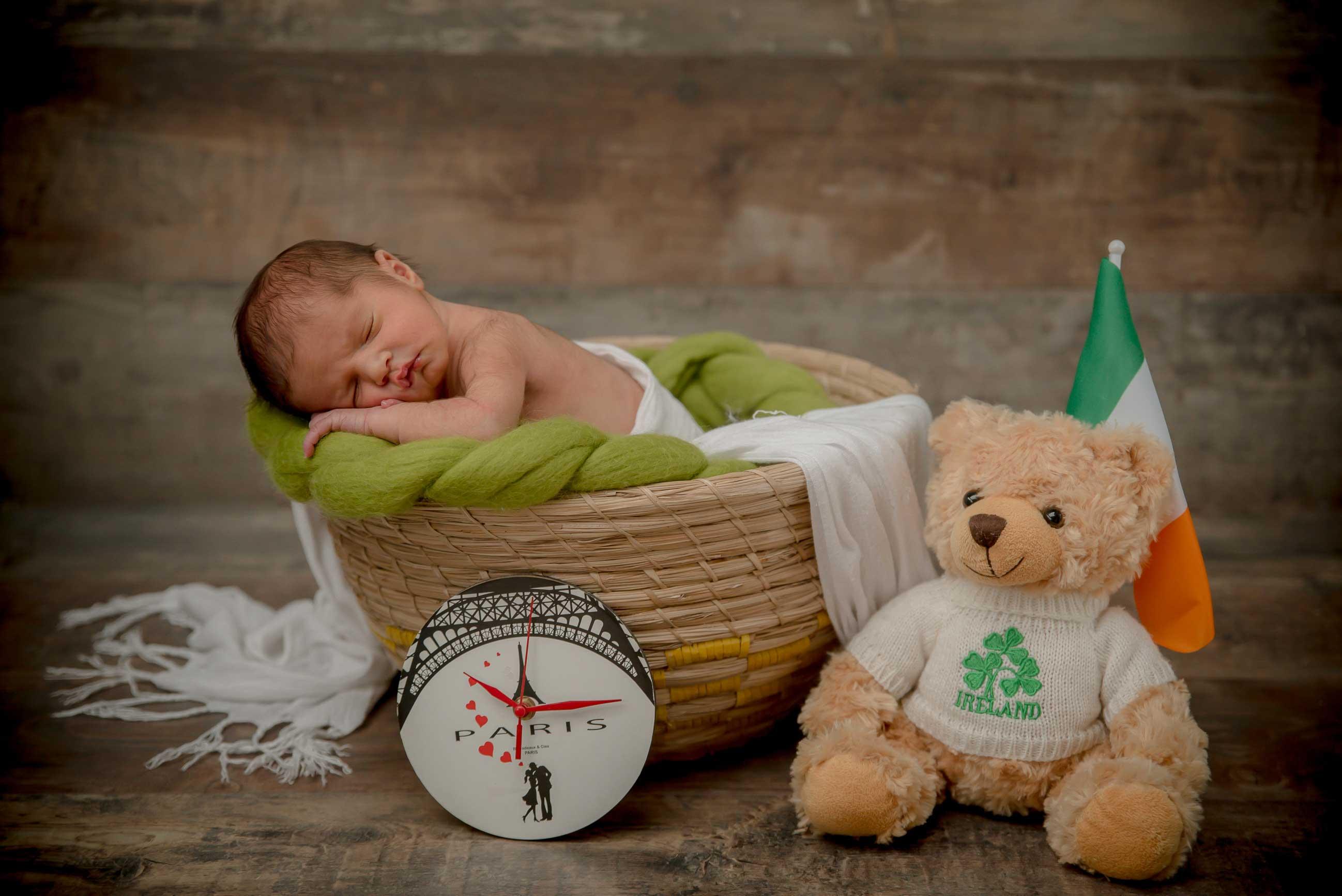 Nounours bébé couleurs Irlande paris
