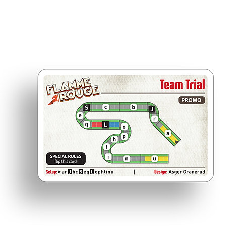 Flamme Rouge Promo Card
