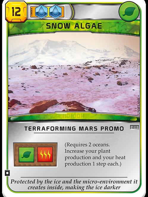 Terraforming Mars Snow Algae