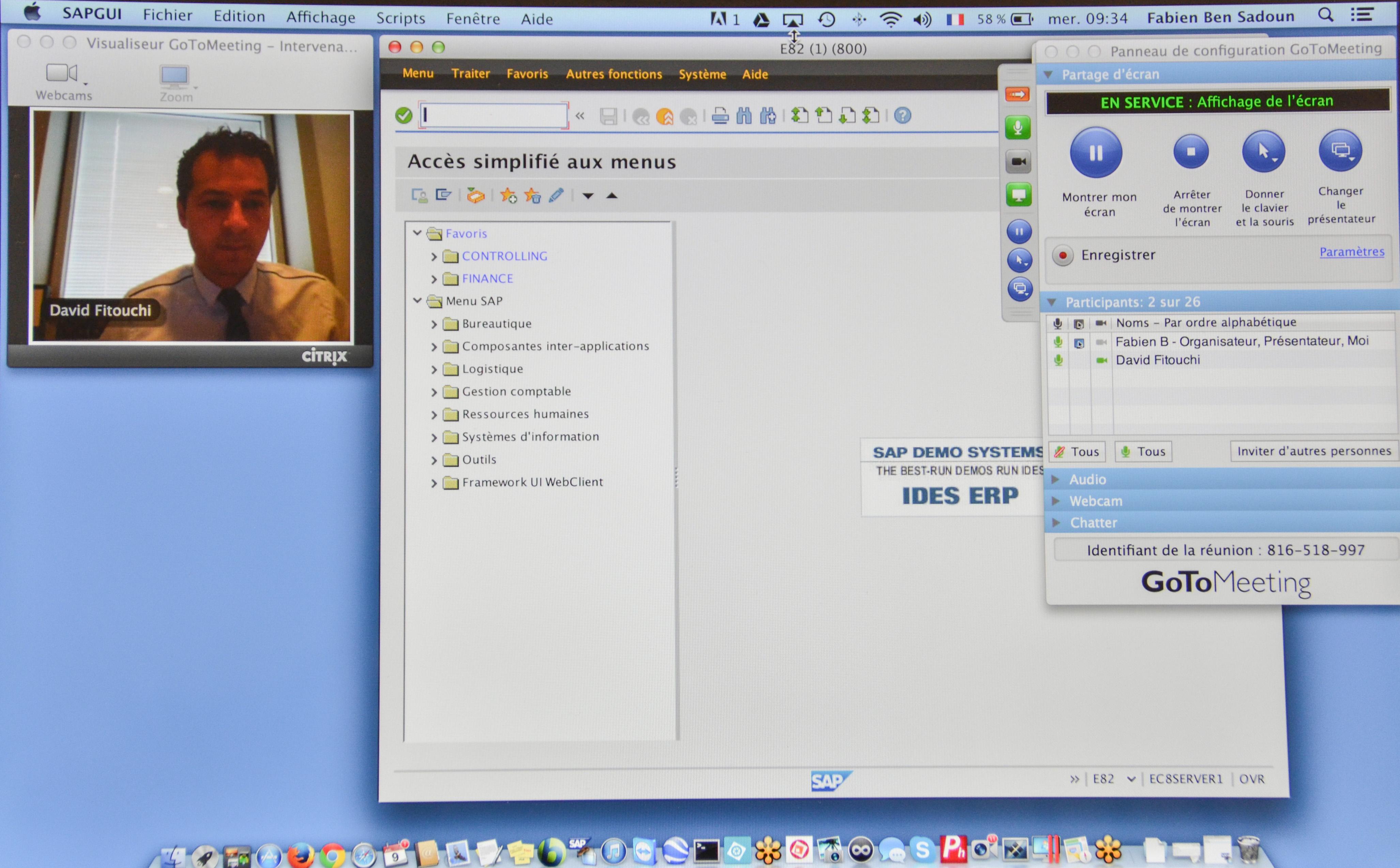 Se Former à SAP en Visioformation