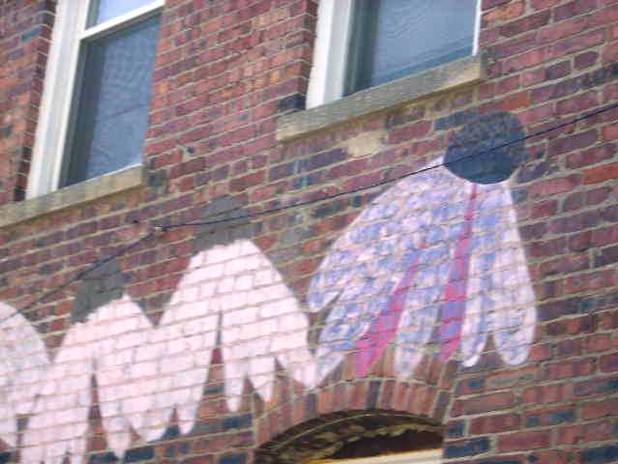 7-25-19 WBRP East Mural Coneflowers #2.j