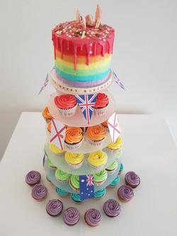A colourful 30th Birthday