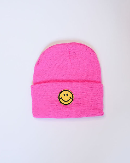 כובע צמר HAPPY