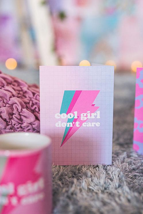 כרטיס ברכה COOL GIRL