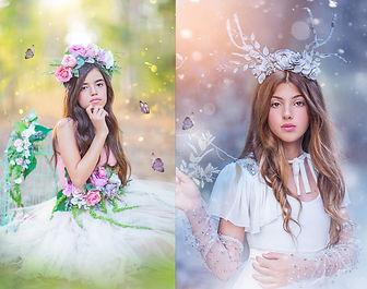 נסיכת הקרח ופיית הפרחים