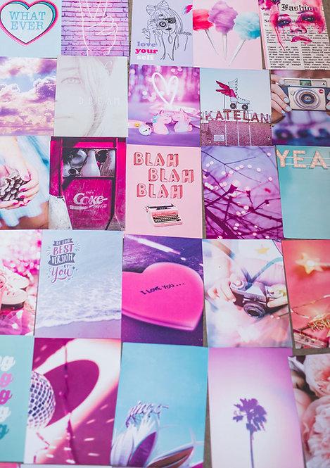 קיט פוסטרים לעיצוב החדר -LOVE