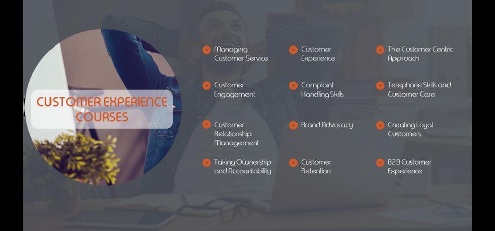 Customer Experience Training Courses