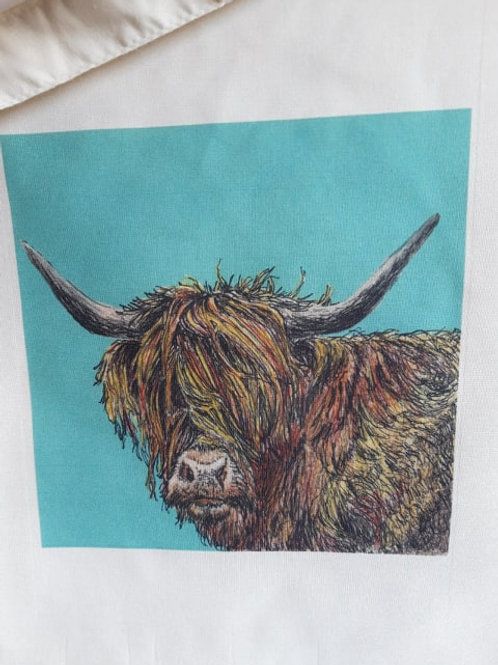 Tote Bag - Highland Cow