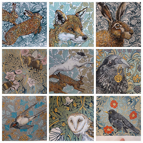 Card Bundle!!  5 Greeting cards for £10, save £5