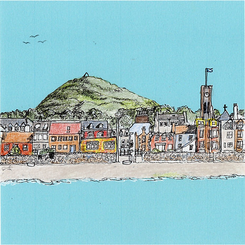 North Berwick Front Geeting Card
