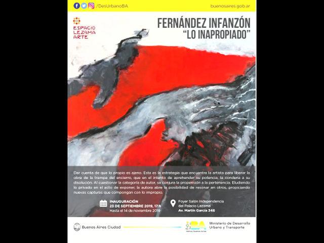 Lo Inapropiado - Espacio Lezama Arte 2019-2020