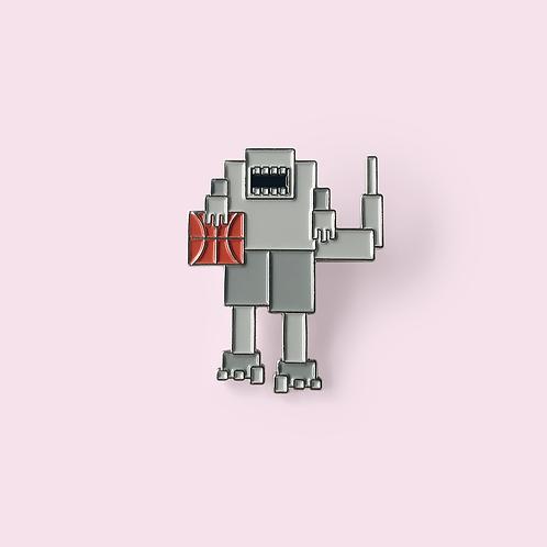 Rapbot Enamel Pin