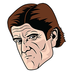Graphic of Toronto Maple Leafs coach Mike Babcock, a design for Babsocks