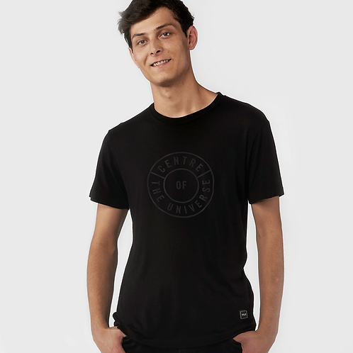 Centre of the Universe Unisex Tee, Black