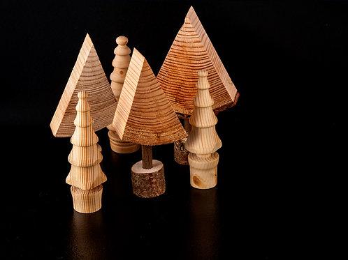Festive Christmas Table Trees