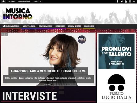 PREMIO LUCIO DALLA e MUSICA INTORNO