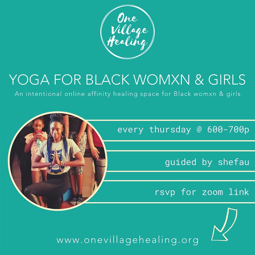 Yoga For Black Womxn & Girls