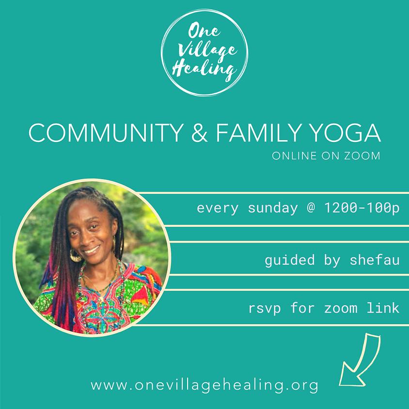 Community & Family Yoga