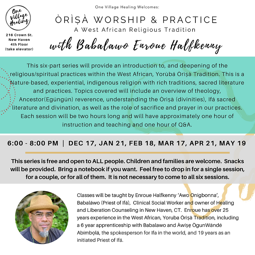 Òrìṣà Worship and Practice-A West African Religious Tradition
