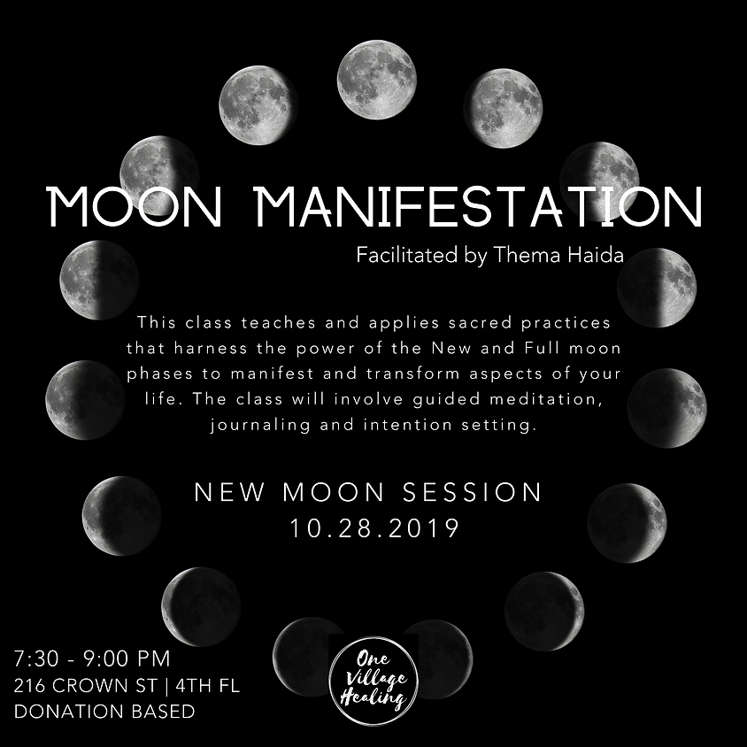 Moon Manifestation w/Thema Haida