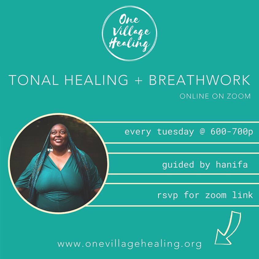 Group Tonal Healing  +  Breathwork