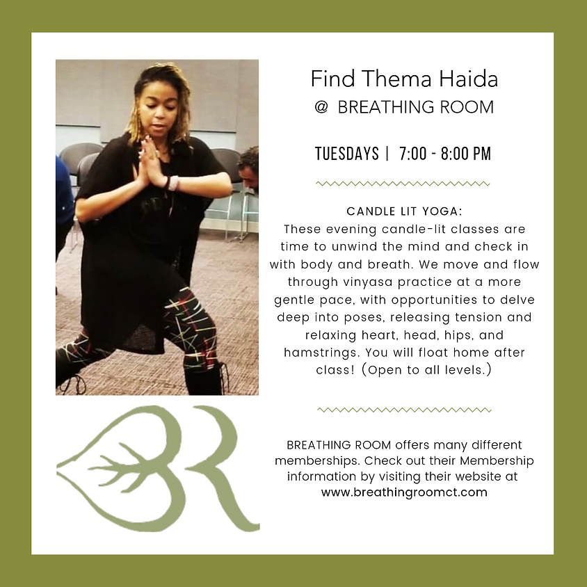 Thema @ Breathing Room: Candle Lit Yoga