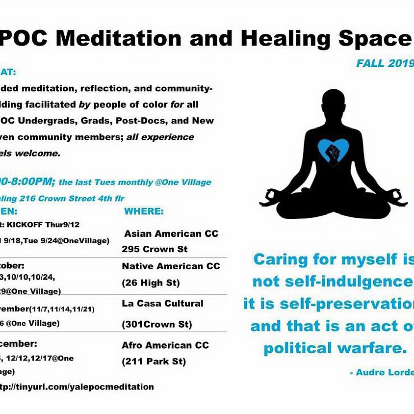 POC Meditation and Healing Space