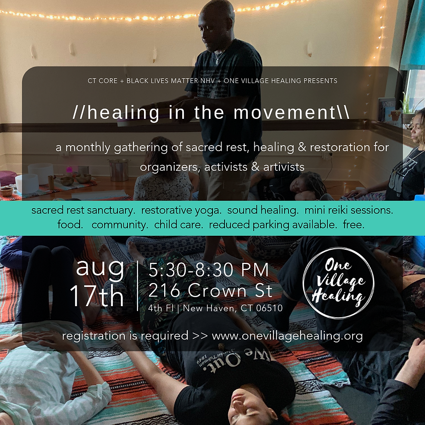 Healing In The Movement