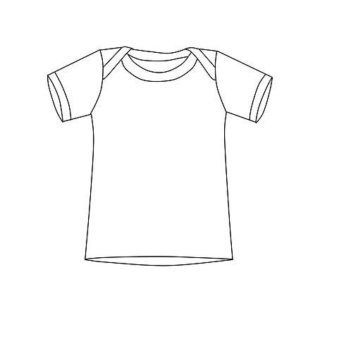 Basic Shirt mit Schlupfausschnitt