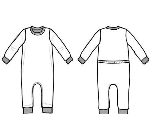 Schlafanzug mit Schlupffunktion