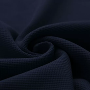 Waffelstrick Jersey dunkelblau
