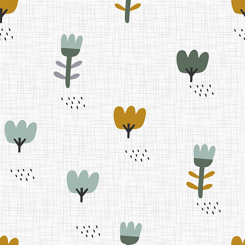 Blumenwiese Ocker
