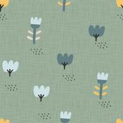 Blumenwiese grün