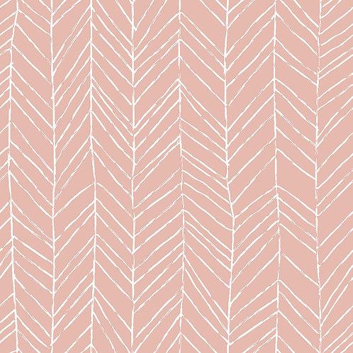 Svea Kombistoffe weiß/rosa