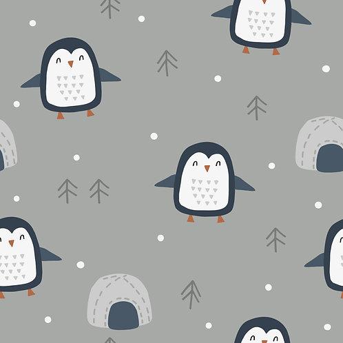 Piet Pinguin grau