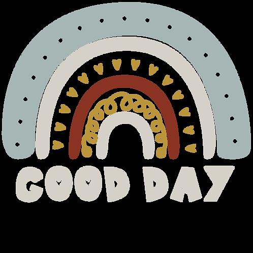 Regenbogen Good Day Sticker