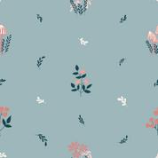 Flora blau
