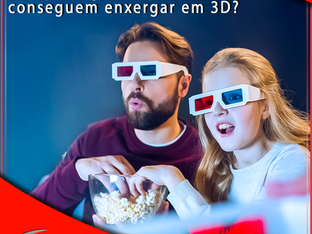 Por que algumas pessoas não conseguem enxergar em 3D?