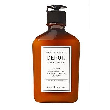 Depot 102. ANTI-DANDRUFF & SEBUM CONTROL SHAMPOO 250ML