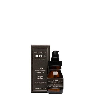 Depot 505. CONDITIONING BEARD OIL_Ginger & Cardamon 30ml