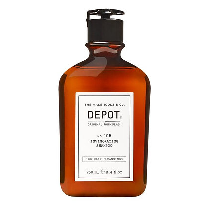 Depot 105. INVIGORATING SHAMPOO 250ML